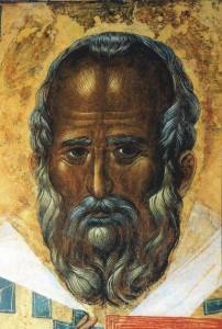 Икона из Базилики свят. Николая в г. Бари (Италия), которая, как считается,  была написана на основе прижизненного изображения святого.