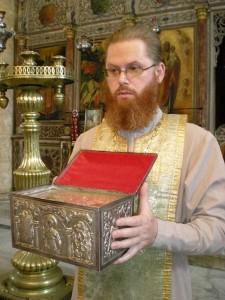 Священник  Алексий Ястребов.